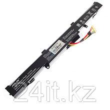 Аккумулятор для ноутбука Asus A41-X550E/ 14,4 В (совместим с 14,8 В)/ 2600 мАч, черный