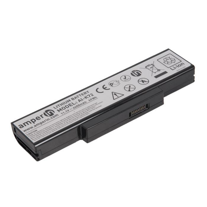 Аккумулятор для ноутбука Asus F3/ 11,1 В/ 4400 мАч, черный