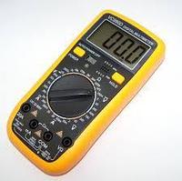 Мультиметр DIGITALЦифровой электроизмерительный прибор.. ЖК-дисплей. Поворотный переключатель. Щуп в комплекте