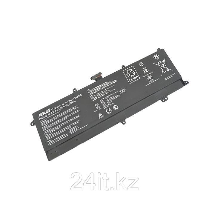 Аккумулятор для ноутбука Asus X202/ 11,1 В/ 5200 мАч, черный