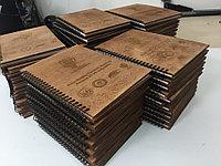 Деревянный блокнот с логотипом, фото 1