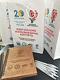 Деревянный блокнот с логотипом, фото 3