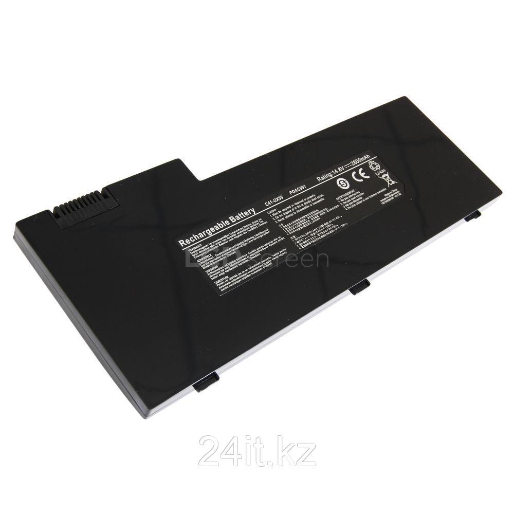 Аккумулятор для ноутбука Asus UX50/ 14.8 В/ 2800 мАч, черный