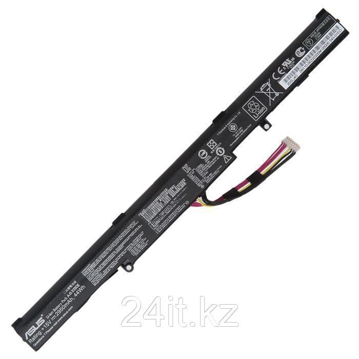 Аккумулятор для ноутбука Asus A41-X550E/ 14,4 В/ 2950 мАч, черный, ОРИГИНАЛ
