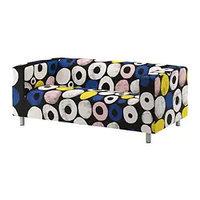 Диван 2-местный КЛИППАН, Сангис разноцветный ИКЕА, IKEA, фото 1