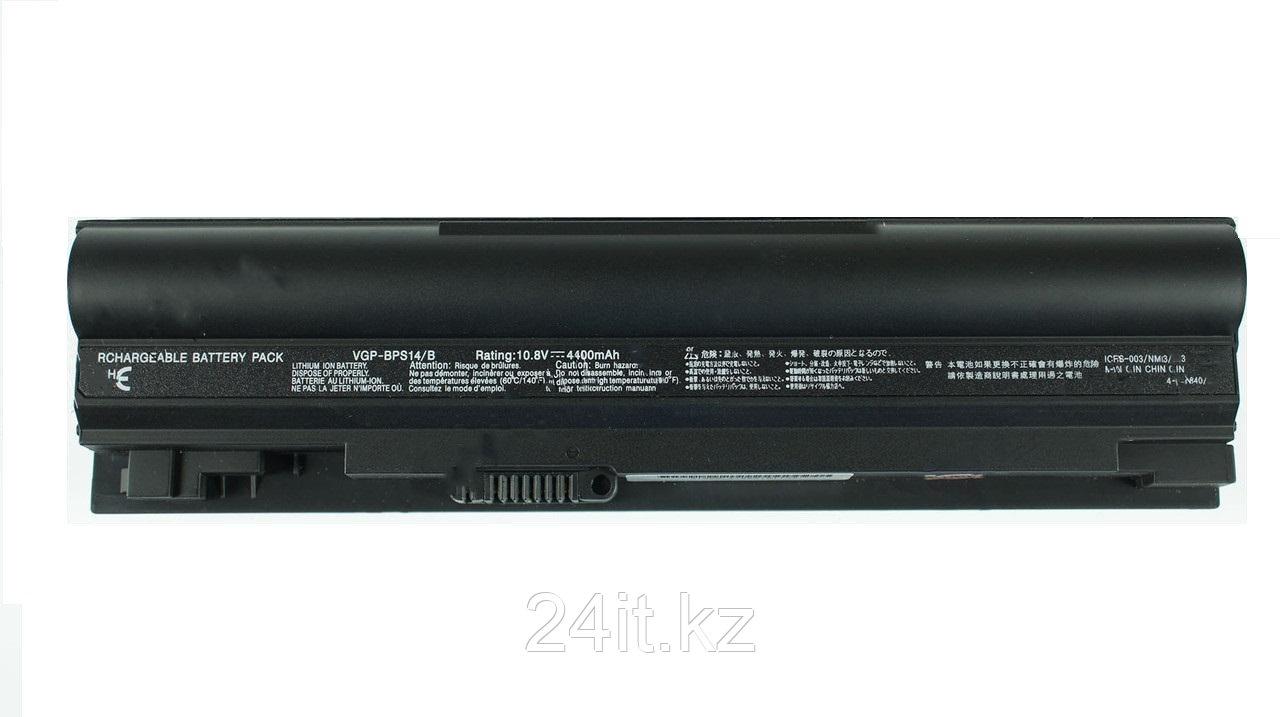 Аккумулятор для ноутбука Sony VGP-BPS14/ 10,8 В (совместим с 11,1 В)/ 4400 мАч, черный