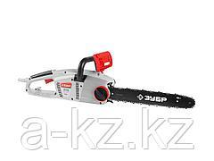 Пила цепная ЗУБР ЗЦП-2000-02, защита руки (тормоз цепи), масляный бачок, смена цепи без ключа, шина 40 см