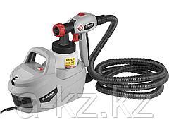 Краскопульт электрический ЗУБР КПЭ-650, 650 Вт, HVLP, 0,8 л, краскоперенос 0-700 мл/мин, вязкость краски 60 DIN/сек, сопло 1,8 мм