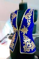 Пошив казахские национальные жилетки