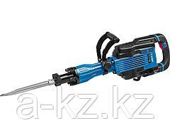 Отбойный молоток электрический ЗУБР ЗМ-35-1600 ВК, бетонолом, HEX-30, 35 Дж