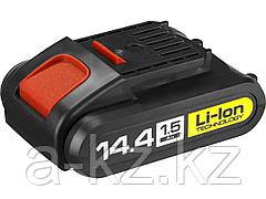 Аккумулятор для шуруповерта ЗУБР АКБ-14.4-Ли 15М1, МАСТЕР АКБ Li-Ion, тип М1, 1,5 Ач, 14,4 В