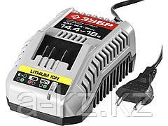 Зарядное устройство для аккумулятора, ЗУБР БЗУ-14.4-18 М1, МАСТЕР Импульс универсальное, интеллектуальное, 14-18 В для АКБ М1