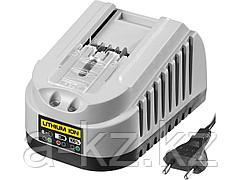 Зарядное устройство для аккумулятора, ЗУБР БЗУ-14.4-18 М4, МАСТЕР Импульс универсальное, интеллектуальное, 14-18 В для АКБ М4