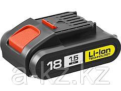 Аккумулятор для шуруповерта ЗУБР АКБ-18-Ли 15М1, МАСТЕР АКБ Li-Ion, тип М1, 1,5 Ач, 18 В