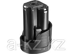 Аккумулятор для шуруповерта ЗУБР АКБ-12-Ли 15М1, МАСТЕР АКБ Li-Ion, тип М1, 1,5 Ач, 12 В
