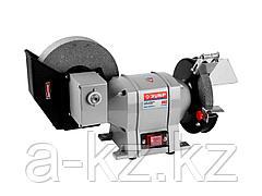 Станок точильный ЗУБР ЗТШМ-150/200У_z01, диски 150 х 20 х 32 мм /200 х 40 х 32 мм, 134 об/мин, 350 Вт
