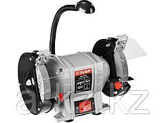 Станок точильный ЗУБР ЗТШМ-150-250, МАСТЕР, двойной, диск 150 х 20 х 32 мм, лампа подсветки, 250 Вт