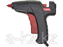 Клеевой пистолет ЗУБР 06850-60-12_z01, термоклеящий, эргономичный курок, 12 мм, 60 Вт
