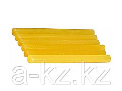 Клеевые стержни STAYER 2-06821-Y-S06, MASTER, для клеевых пистолетов, цвет желтый по бумаге и дереву, 11 х 200 мм, 6 шт.