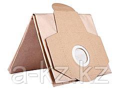 Мешок для строительных пылесосов ЗУБР ЗМБ, бумажный, одноразовый, 5 шт