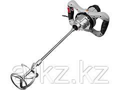 Строительный миксер ЗУБР ЗМР-1200Э-1, одинарный, 1200 Вт