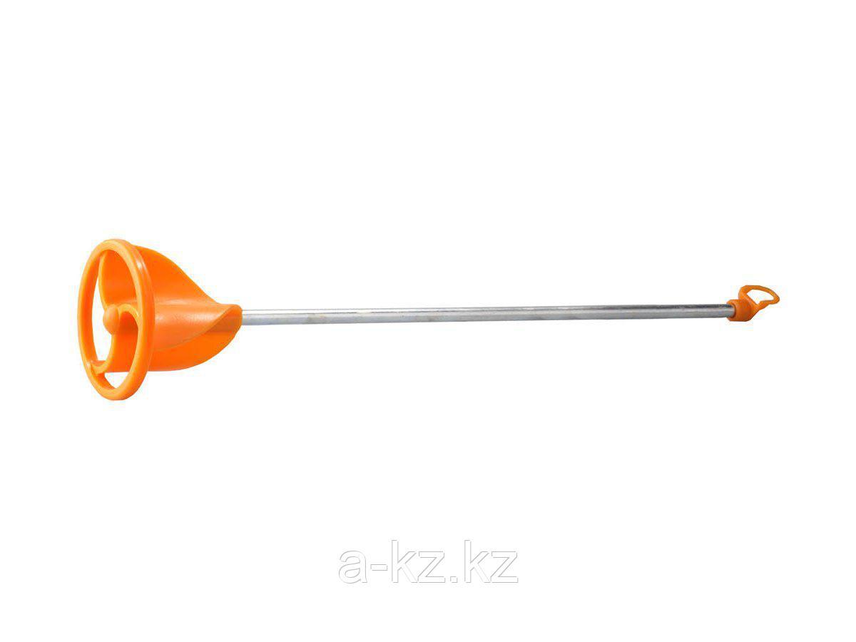 Насадка на миксер строительный STAYER 06043-08-40, пластмассовая, для красок, тип турбина, 8 мм