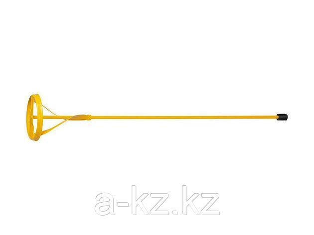 Насадка на миксер строительный STAYER 06019-10-60, MASTER для красок, металлическая, шестигранный хвостовик, крашенная, 100 х 600 мм, фото 2