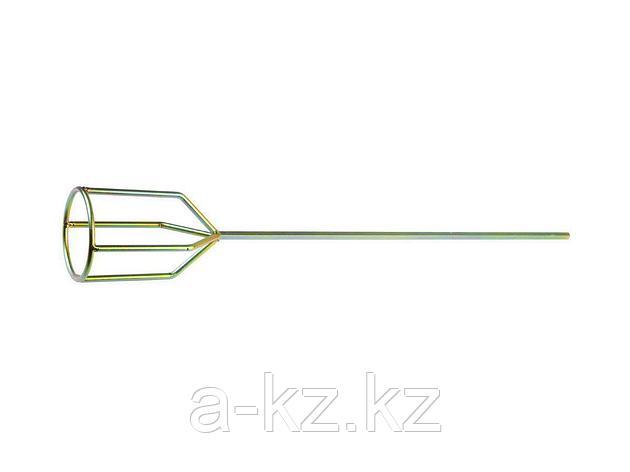 Насадка на миксер строительный STAYER 06035-10-59_z01, PROFI оцинкованная, для гипсовых смесей и наливных полов, 100 х 590 мм, на подвеске, фото 2