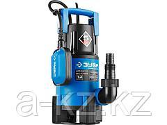 Дренажный насос погружной для грязной воды ЗУБР НПГ-Т3-550, ПРОФЕССИОНАЛ, Т3 (d пропускаемых частиц до 35 мм), 550 Вт, пропускная способность, 170