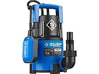 Дренажный насос погружной для чистой воды ЗУБР НПЧ-Т3-550, ПРОФЕССИОНАЛ, Т3 (d пропускаемых частиц до 5 мм), 550 Вт, пропускная способность 185 л/мин,