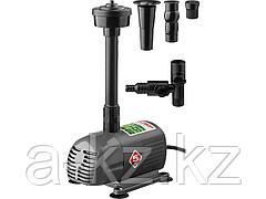 Насос фонтанный ЗУБР ЗНФЧ-33-2.5, для чистой воды, напор 2,5 м, насадки: колокольчик, гейзер, водопад, 50 Вт, 33 л/мин