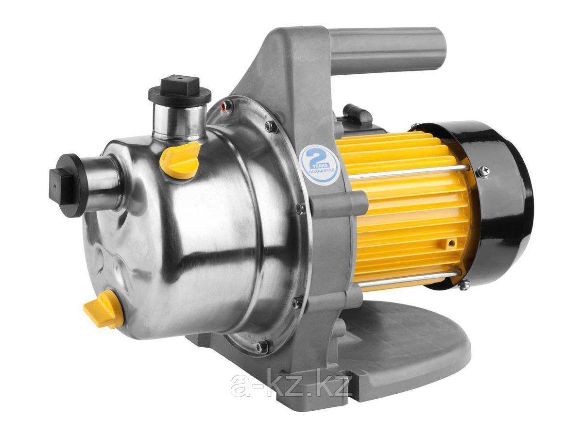 Насос поверхностный GRINDA GGPP-60-40, нержавеющая сталь, пропускная способность 3200 л/час, высота подачи воды 40 м, 800 Вт