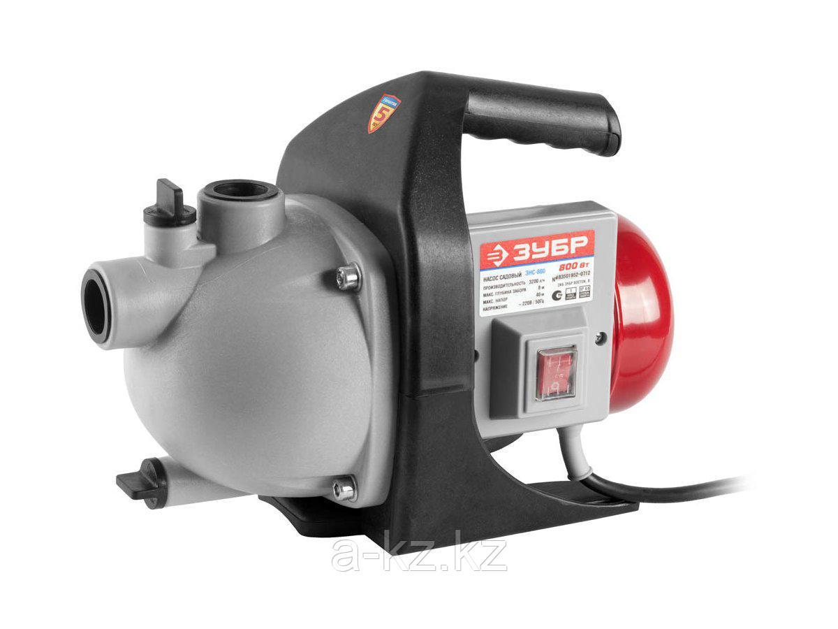 Насос поверхностный ЗУБР ЗНС-800, 55 л/мин, напор 40 м, 800 Вт