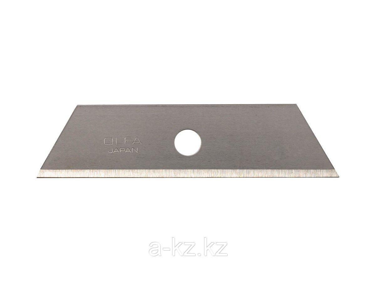 Сменное лезвие трапеция OLFA OL-SKB-2/5B, для OL-SK-4, 17,5 х 72 х 0,6 мм, 5 шт.