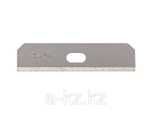 Сменное лезвие для скребка OLFA OL-SKB-7/10B, специальное, для скребка арт. OL-SK-7, 12,5 мм, 10 шт., фото 2