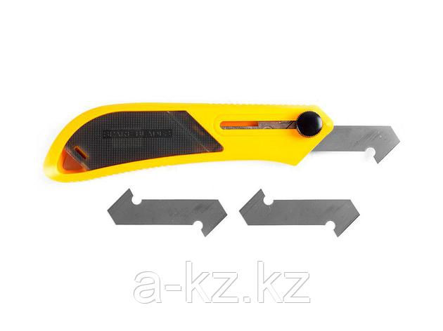 Нож для пластика OLFA OL-PC-L, усиленный, с 3-мя лезвиями, 13 мм, фото 2