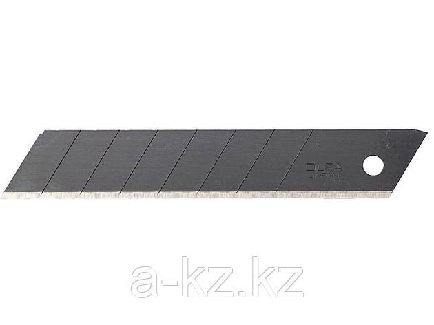 Сменное лезвие сегментированное OLFA OL-LBB-50B, BLACK MAX, сегментированное, 8 сегментов, 18 х 100 х 0,5 мм, 50 шт., фото 2