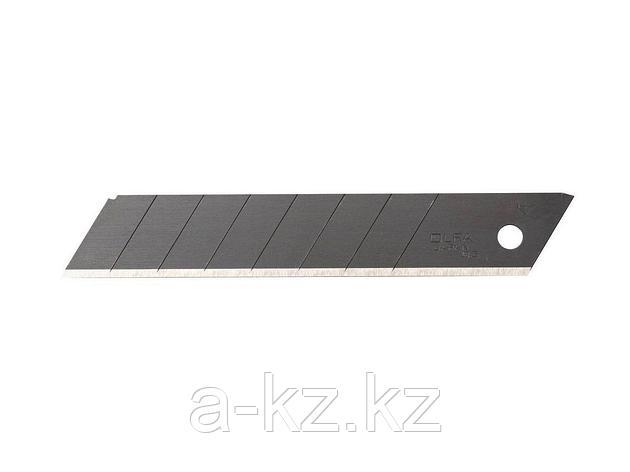 Сменное лезвие сегментированное OLFA OL-LBB-10B, BLACK MAX, сегментированное, 18 х 100 х 0,5 мм, 10 шт., фото 2