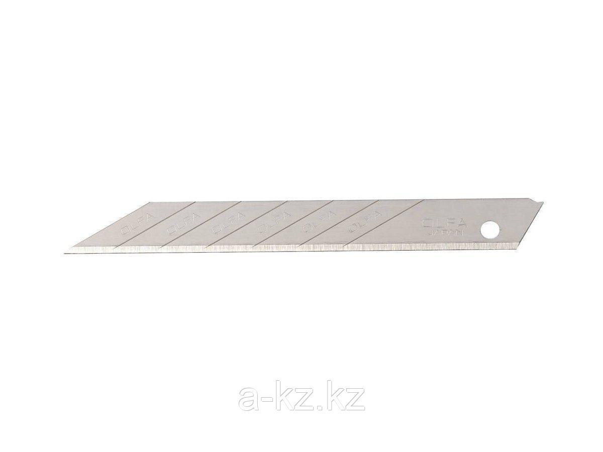 Сменное лезвие сегментированное OLFA OL-SAB-10B, для графических работ, 9 х 80 х 0,38 мм, 10 шт.