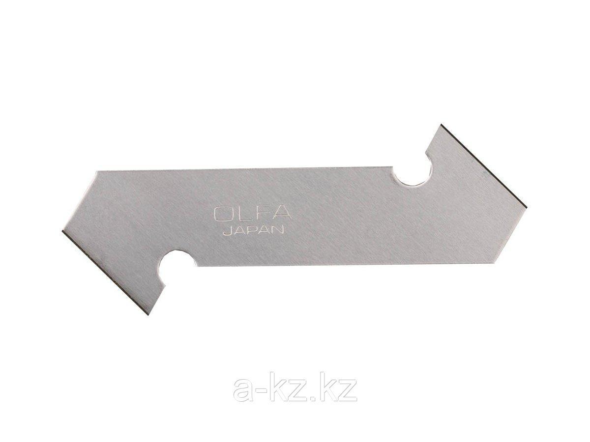 Сменное лезвие крюк OLFA OL-PB-800, двухстороннее, для резака OL-P-800, 13(16) х 61 х 0,6 мм, 3 шт.