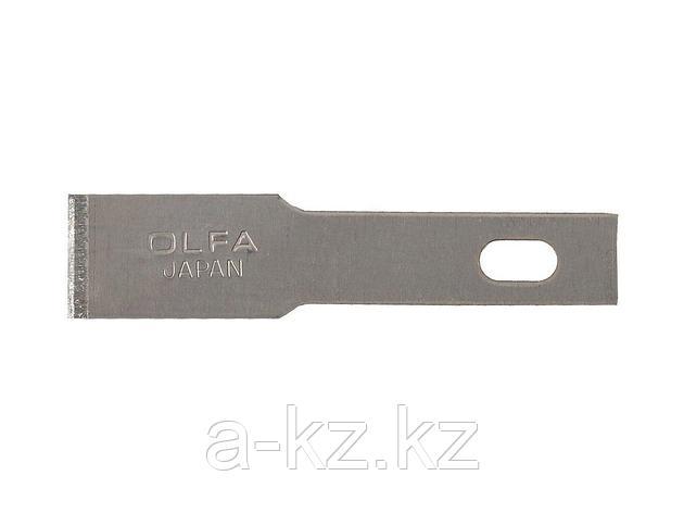Сменное лезвие OLFA OL-KB4-F/5, лопаточные, для ножа арт. OL-AK-4, 6(8) х 35,5 х 0,55 мм, 5 шт., фото 2