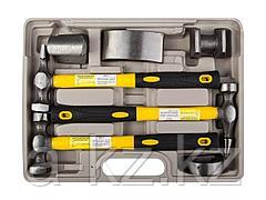 Набор STAYER Молотки PROFI рихтовочные с правками, ст/пл рук., 7 предметов, 20322-H7