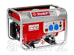 Бензиновый электрогенератор ЗУБР ЗЭСБ-2500, двигатель 4-х тактный, ручной пуск, 220/12В, 2500Вт