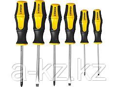 Набор инструментов отвертки STAYER 25055-H6_z02, MASTER HERCULES, Cr-V, эргономичная двухкомпонентная рукоятка, 6 предметов