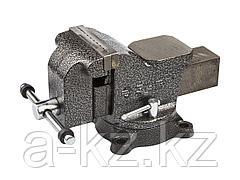 Тиски поворотные слесарные ЗУБР 3258-100, МАСТЕР, 100 мм