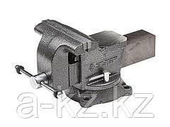 Тиски поворотные слесарные ЗУБР 3258-200, МАСТЕР, 200 мм