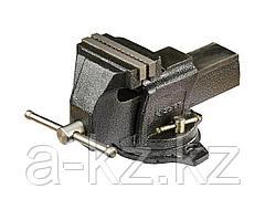 Тиски поворотные слесарные ЗУБР 32703-125, ЭКСПЕРТ, индустриальные, 125 мм