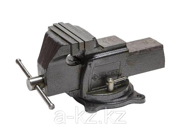 Тиски поворотные слесарные ЗУБР 32703-150, ЭКСПЕРТ, индустриальные, 150 мм, фото 2