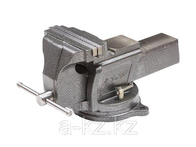 Тиски поворотные слесарные ЗУБР 32703-200, ЭКСПЕРТ, индустриальные, 200 мм, фото 2