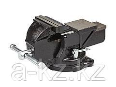 Тиски поворотные слесарные STAYER 3256-100, MASTER, 95 мм